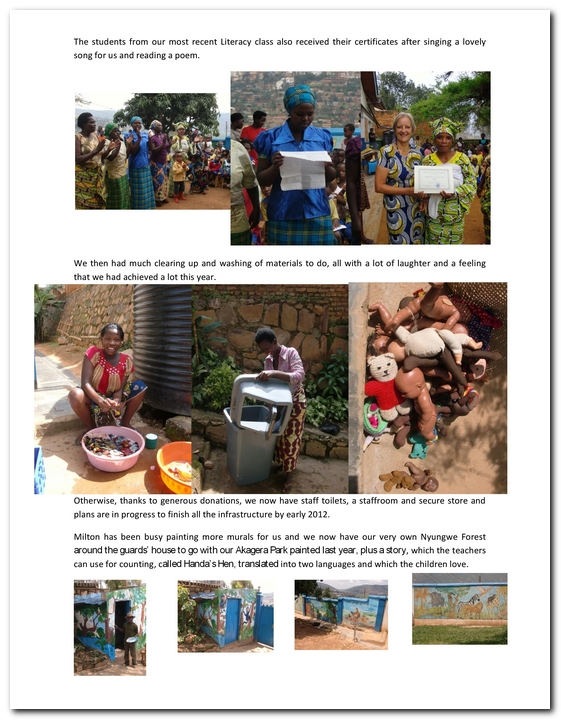 November 2011 | Kinamba Community Project
